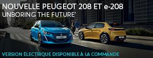 Nouvelle Peugeot 208 avec offre