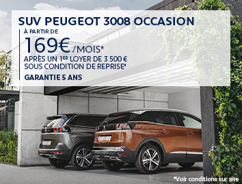 Peugeot occasion 3008 12 2019