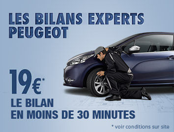 Les bilans experts Peugeot