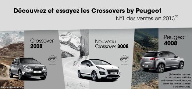 Crossovers by Peugeot