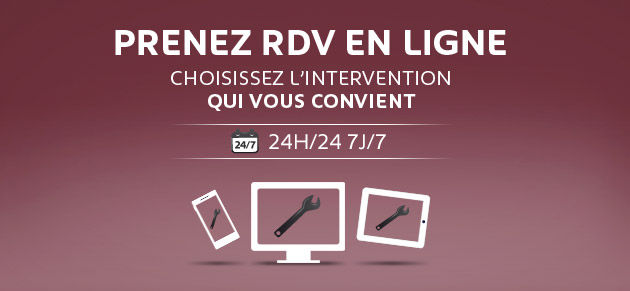 Rdv intervention en ligne