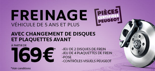 Freins disques/plaquettes new