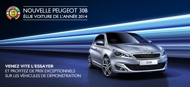 Nouvelle 308 Car of the Year