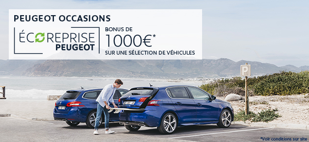 Peugeot occasion promo AOUT 2019