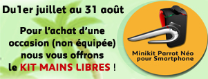 Kit mains-libres offert