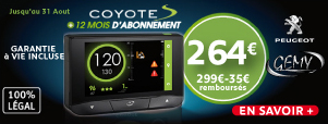 OFFRE COYOTE ETE 2015