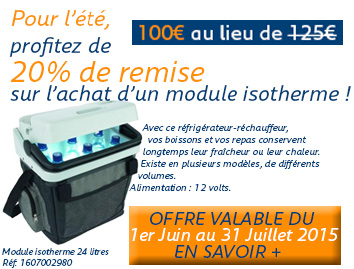 OFFRE MODULE ISOTHERME