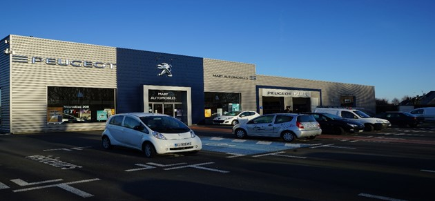 Mary automobiles honfleur garage et concessionnaire for Garage mary lisieux