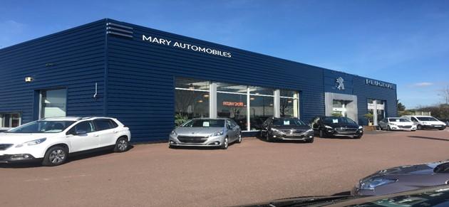 Mary automobiles vire garage et concessionnaire peugeot for Garage peugeot normandie rueil