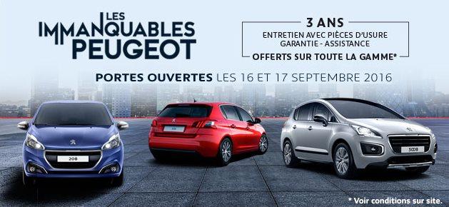 Peugeot sial etats unis nos offres commerciales du moment for Porte ouverte peugeot