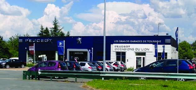 Grands garages de touraine amboise garage et for Peugeot grand garage de touraine
