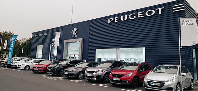 Mary automobiles bayeux garage et concessionnaire peugeot for Garage peugeot normandie rueil