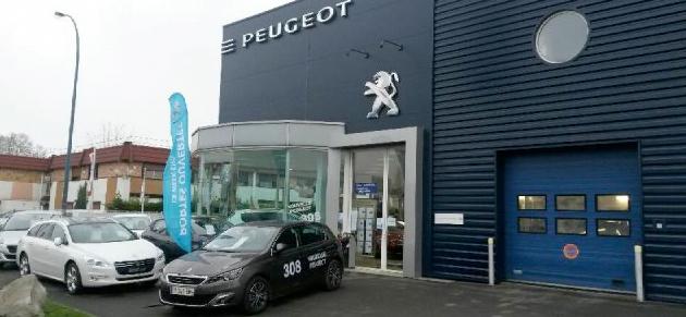 Bernier Massy Garage Et Concessionnaire Peugeot à Massy