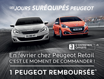 une Peugeot remboursee