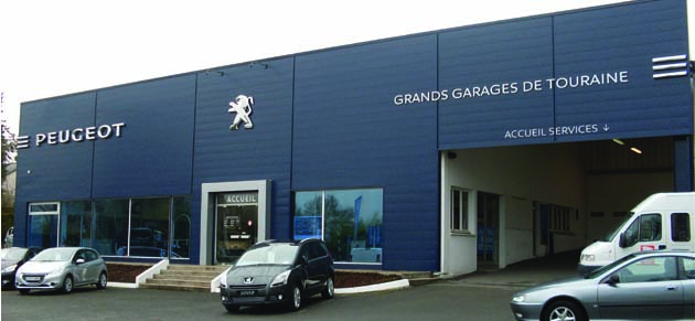 grands garages de touraine chinon garage et concessionnaire peugeot chinon. Black Bedroom Furniture Sets. Home Design Ideas