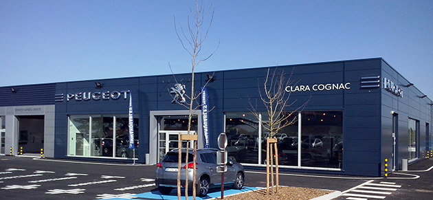 Clara automobiles cognac garage et concessionnaire for Garage peugeot clara saintes