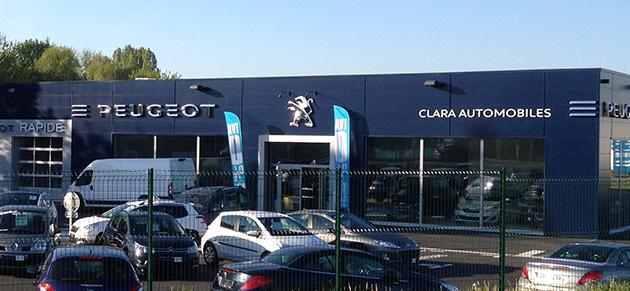 Clara automobiles la ferte bernard garage et for Garage peugeot clara saintes