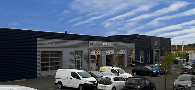 Clara automobiles saintes garage et concessionnaire for Garage peugeot chateaulin