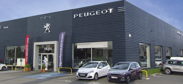 trujas sas coignieres garage et concessionnaire peugeot coignieres. Black Bedroom Furniture Sets. Home Design Ideas