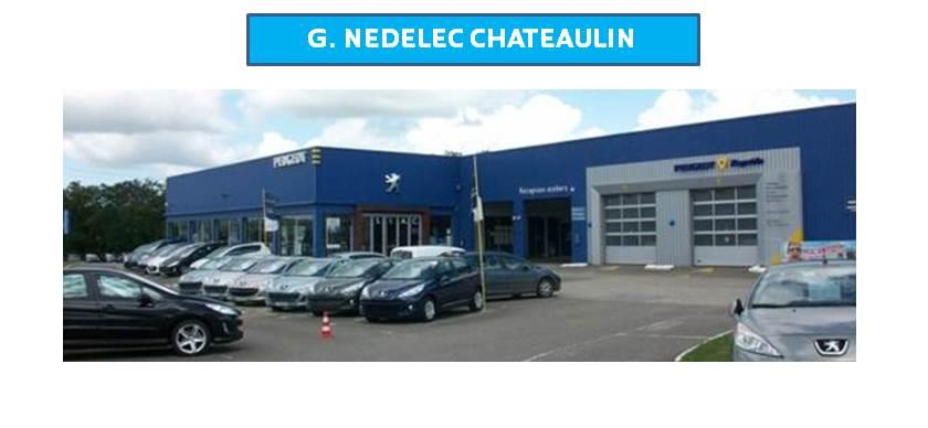 G nedelec chateaulin garage et concessionnaire peugeot for Garage nedelec brest