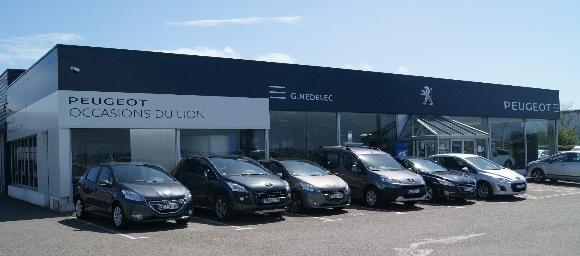 G nedelec concarneau garage et concessionnaire peugeot for Garage nedelec brest