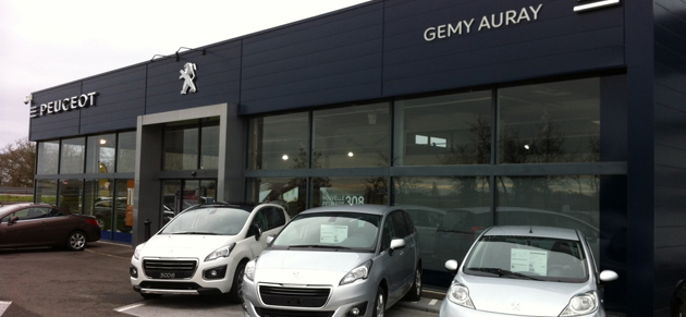 Gemy auray garage et concessionnaire peugeot auray for Garage peugeot auray