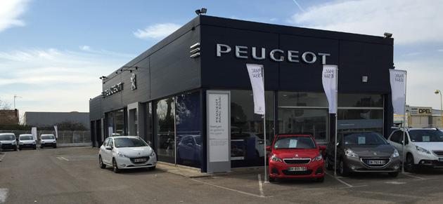 grands garages du gard peugeot lunel garage et ForGarage Peugeot Lunel