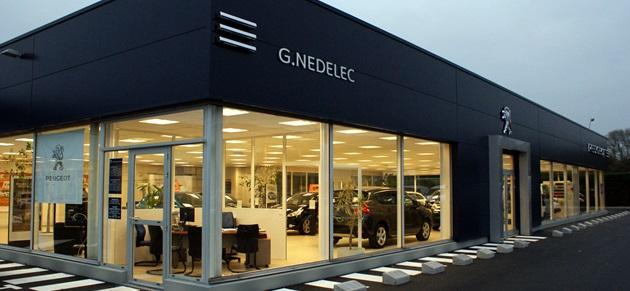 G nedelec landerneau garage et concessionnaire peugeot for Garage nedelec brest
