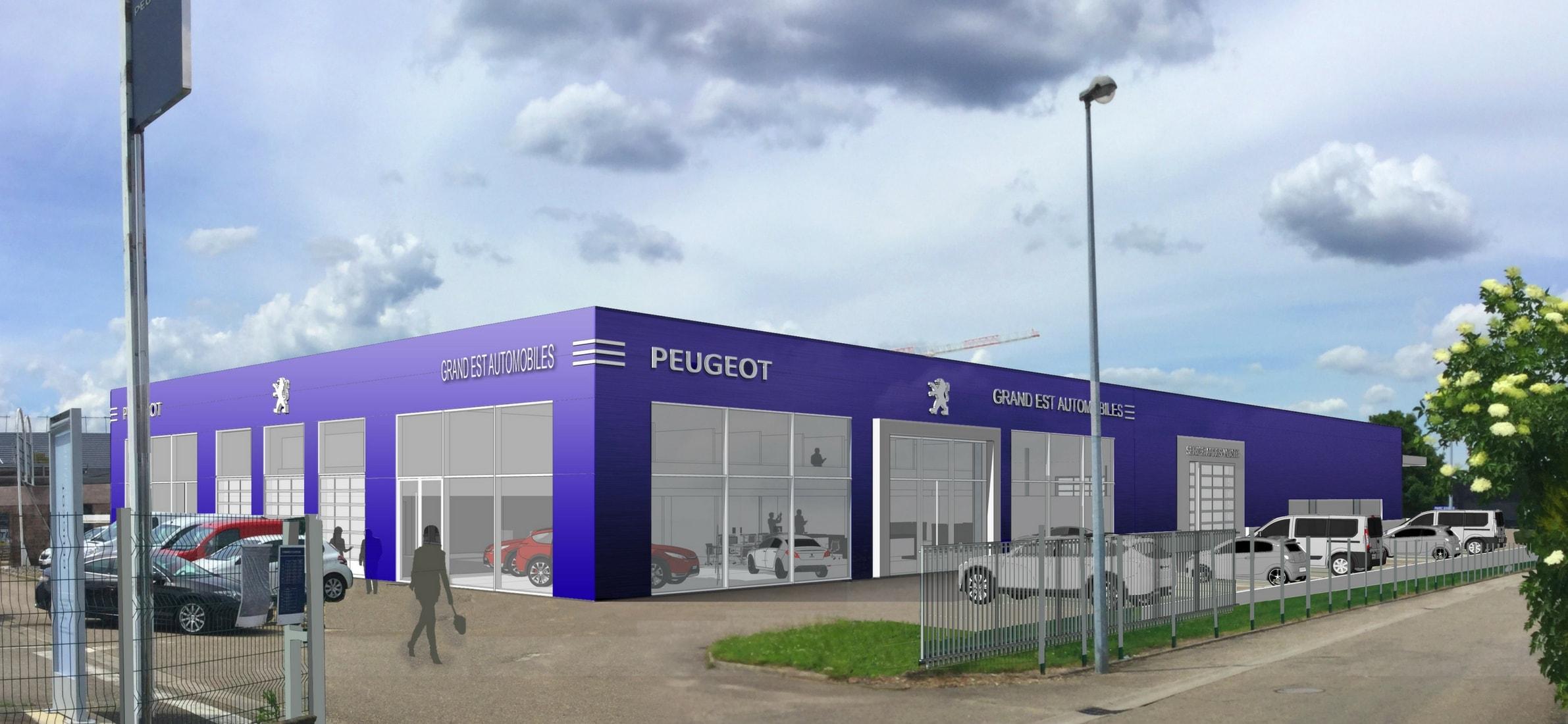 Grand est automobiles peugeot obernai garage et - Grand garage de l herault peugeot montpellier ...