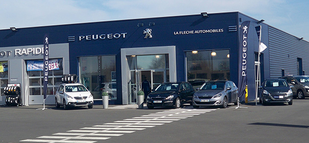 Garage automobile de la fleche garage et concessionnaire for Garage peugeot chateaulin