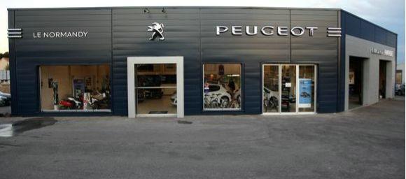 Garage le normandy la seyne garage et concessionnaire for Garage peugeot meslay du maine