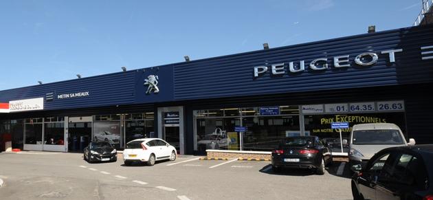 Metin s a meaux garage et concessionnaire peugeot meaux for Reprise garage peugeot