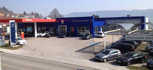 S a garage central morteau garage et concessionnaire for Garage peugeot montfort