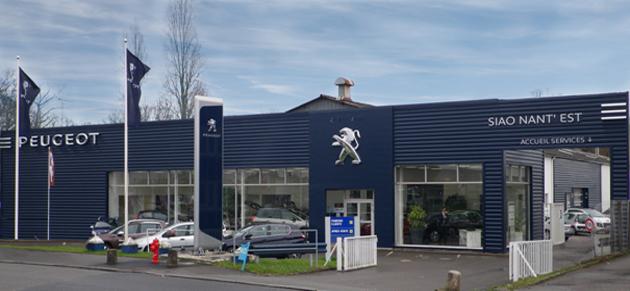 Psa retail nant 39 est garage et concessionnaire peugeot for Garage peugeot a nantes