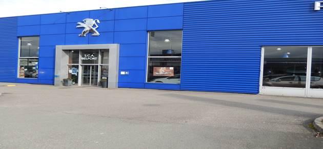 Nedey belfort centre garage et concessionnaire peugeot for Garage denney belfort
