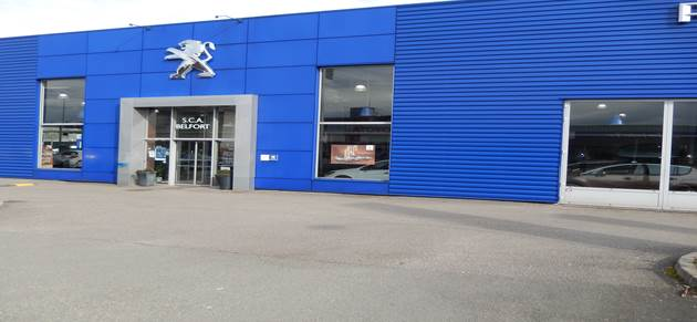 Nedey belfort centre garage et concessionnaire peugeot for Garage peugeot montbeliard
