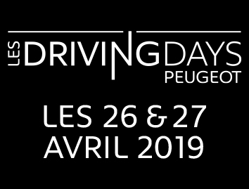 Weekend spécial Driving Days les 26 et 27 Avril