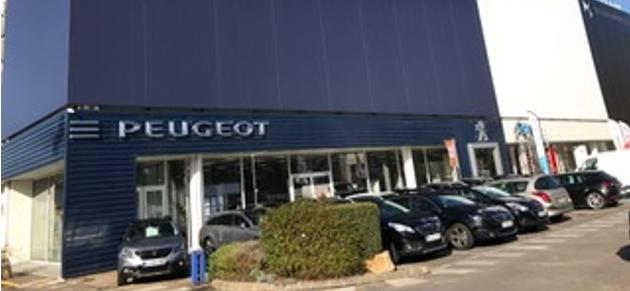 Garage Peugeot Courbevoie Rue De Colombes