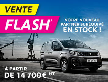 Vente Flash Partner Utilitaire