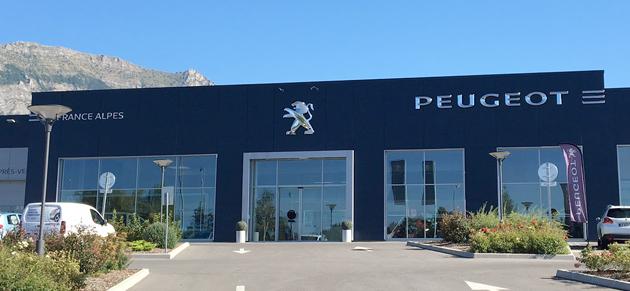 Peugeot gap garage et concessionnaire peugeot gap for Garage peugeot portugal