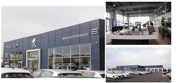 saga automobiles garage et concessionnaire peugeot thouars. Black Bedroom Furniture Sets. Home Design Ideas