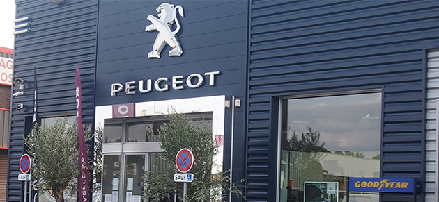 Peugeot psa retail saint m tre les remparts garage et for Garage peugeot martigues