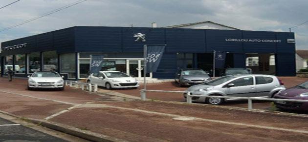 Lorillou auto concept garage et concessionnaire peugeot for Peugeot grand garage de touraine