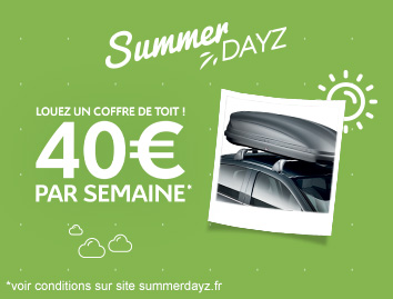 COFFRE DE TOIT SUMMERDAYS 2017