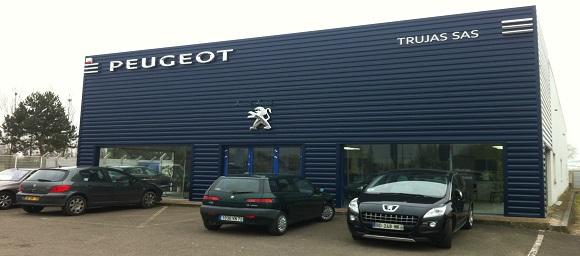 Peugeot trujas les essarts garage et concessionnaire for Rdv en ligne garage