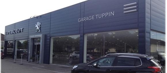 S a s garage tuppin garage et concessionnaire peugeot for Garage peugeot saint nazaire